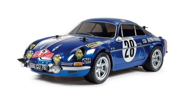 Tamiya 1:10 Renault Alpine A110 Monte-Carlo´71 M-06 Chassis