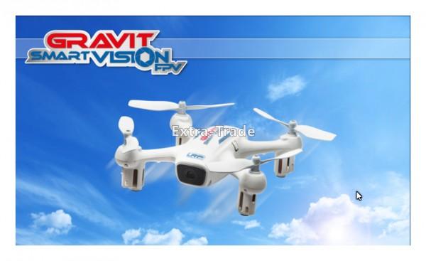 LRP Gravit Smart Vision FPV - APP gesteuerter WiFi Quadrocopter