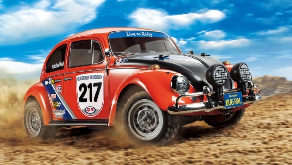 Tamiya 1:10 RC VW Beetle Rally MF-01X Detailbild 1