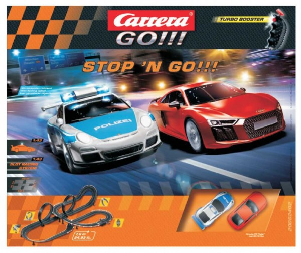 Carrera GO!!! Stop´N Go!!! Turbo Booster - Fachhandelsset 2016