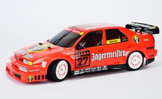 Tamiya RC 1:10 Alfa Romeo 155 V6 TI Jägermeister TT-02 Detailbild 1