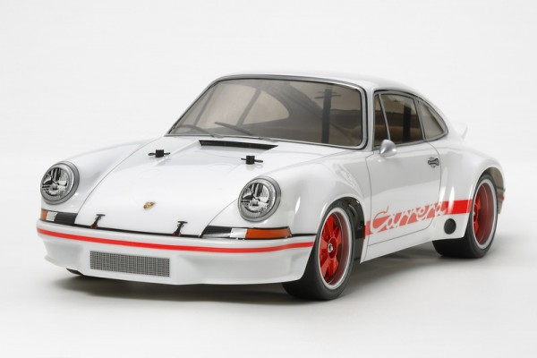 Tamiya RC 1:10 XB Porsche 911 Carrera RSR, White Version (TT01-E)