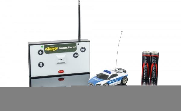 Carson Nano Racer Polizei 40MHz 100% RTR