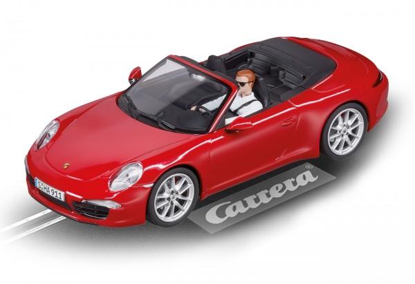 Carrera Digital 132 Porsche 911 Carrera S Cabriolet Rot