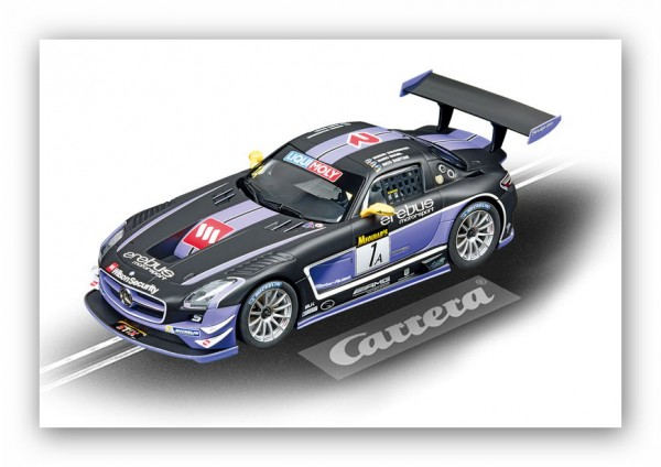 Carrera Digital 124 Mercedes-Benz SLS AMG GT3 E. Motorsports, No.1A
