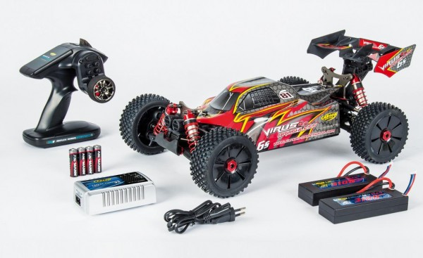 Carson 1:8 Virus 4.0 Pro Buggy Brushless 6S 2,4 GHz RTR