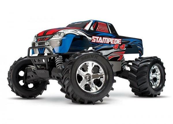 TRAXXAS Stampede 4x4 BRUSHED +12V-Lader Monster Truck XL-5 2.4GHz