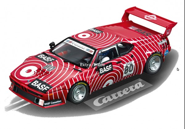 Carrera Digital 124 BMW M1 Procar BASF No. 80 1980