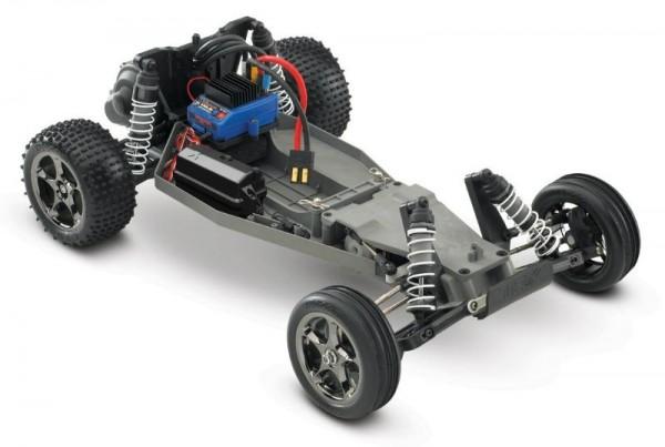TRAXXAS Bandit VXL Buggy RTR TSM 12V-Lader 1:10 bis 100 kmh Detailbild 1