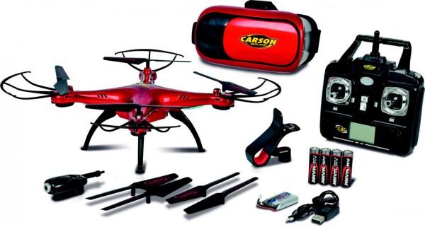 Carson X4 Quadcopter 360 3D FPV 2,4GHz 100% RTF Detailbild 1