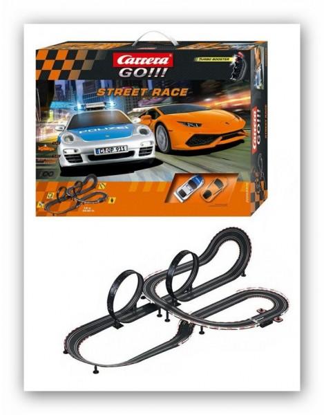 Carrera GO!!! Street Race Turbo Booster - Fachhandelsset