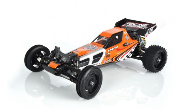 Tamiya RC Buggy Racing Fighter The Real DT-03 Bausatz