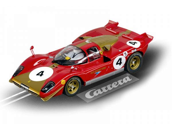 Carrera DIGITAL 124 Ferrari 512S Berlinetta No.4 Brands Hatch 1970