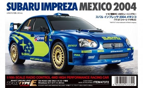 Tamiya 1:10 RC Subaru Impreza WRX 2004 TT-01E Detailbild 1