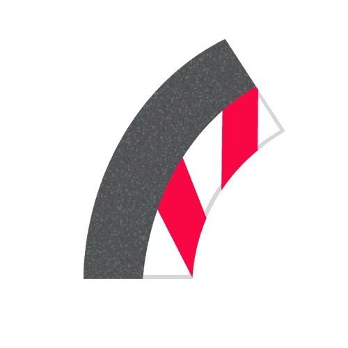 Carrera Digital Innenrandstreifen Kurve 1/60