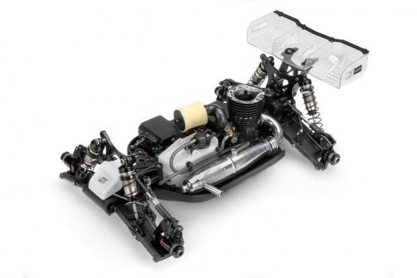 LRP Buggy 1/8 HB D815 Baukasten + HB CRF3 Motor incl. Reso Set