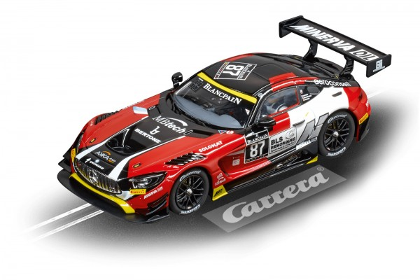 Carrera Digital 132 Disney Mercedes AMG GT 3 AKKA ASP Nr. 87