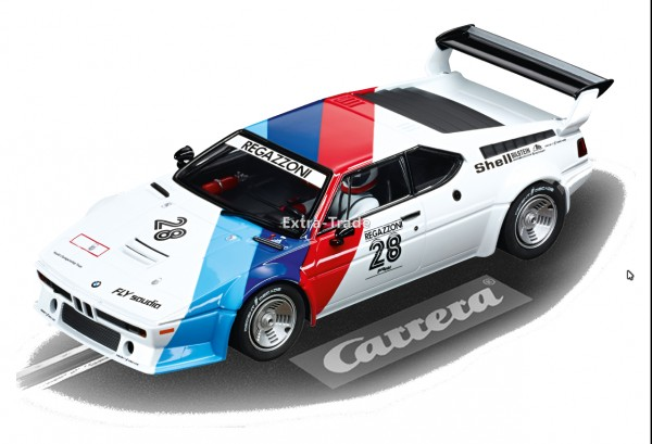 Carrera Digital 124 BMW M1 Procar Regazzoni No. 28 1979
