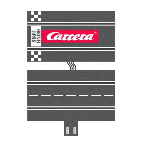 Carrera Anschlussstück für mehrspurigen Ausbau