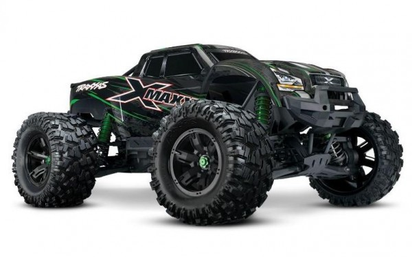 TRAXXAS X-Maxx 8S RTR Brushless waterproof +TSM E-Monster Truck TQi