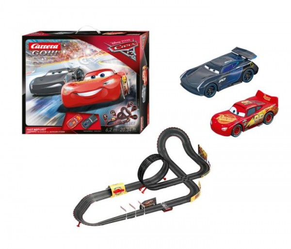 Carrera GO!!! Disney Pixar Cars 3 Fast Not Last