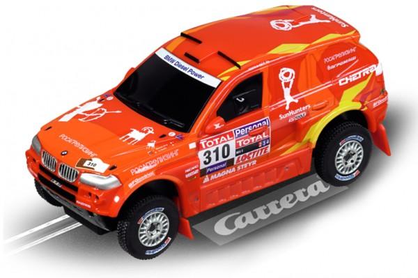 """Carrera Go BMW X3 CC """"Raid 2010, Novitsky"""""""